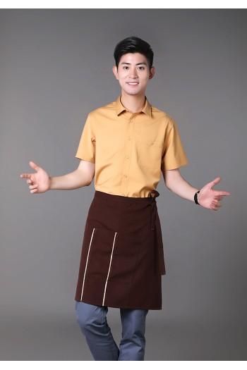 男式短袖衬衫