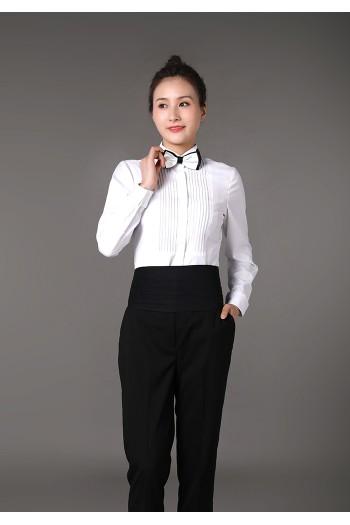 女式长袖衬衫
