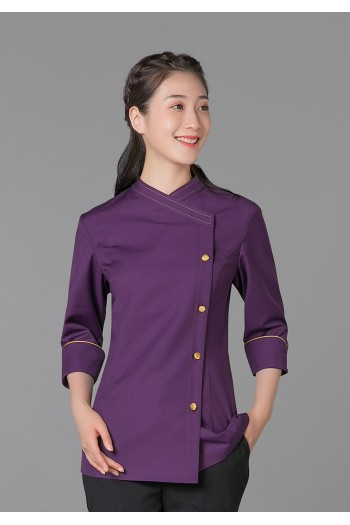 女式中袖衬衫(七分袖)