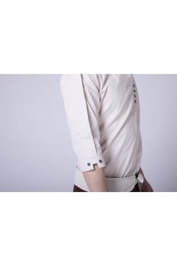 男式中袖襯衫(七分袖)