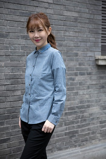 Ladies'Long Sleeve Blouse