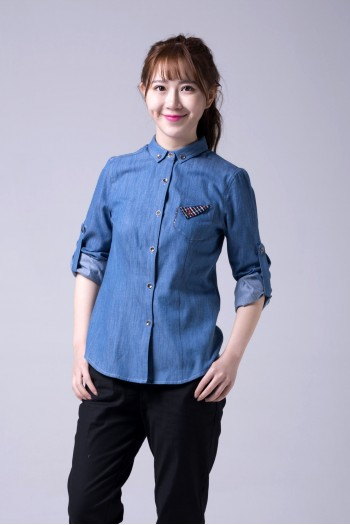 女式長袖襯衫