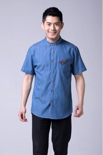 男式短袖襯衫