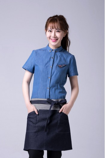 Ladies'Short  Sleeve Blouse