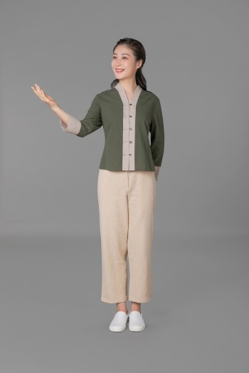 女式长袖上衣