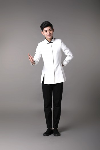 Men Stand Collar shirt