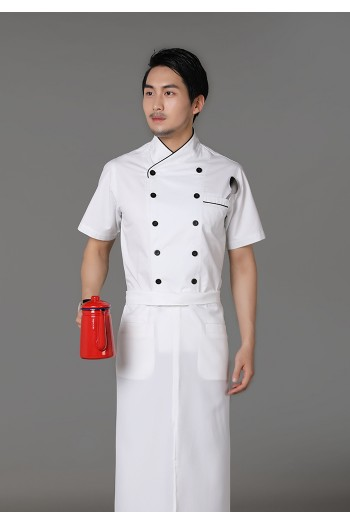 短袖厨师服
