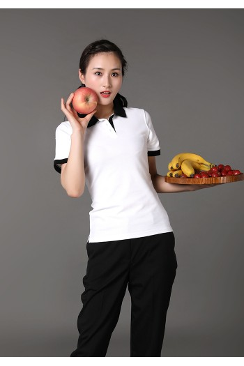 Ladies Short Sleeve Polo T-Shirt
