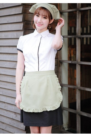 Ladies' Lacy Short Apron