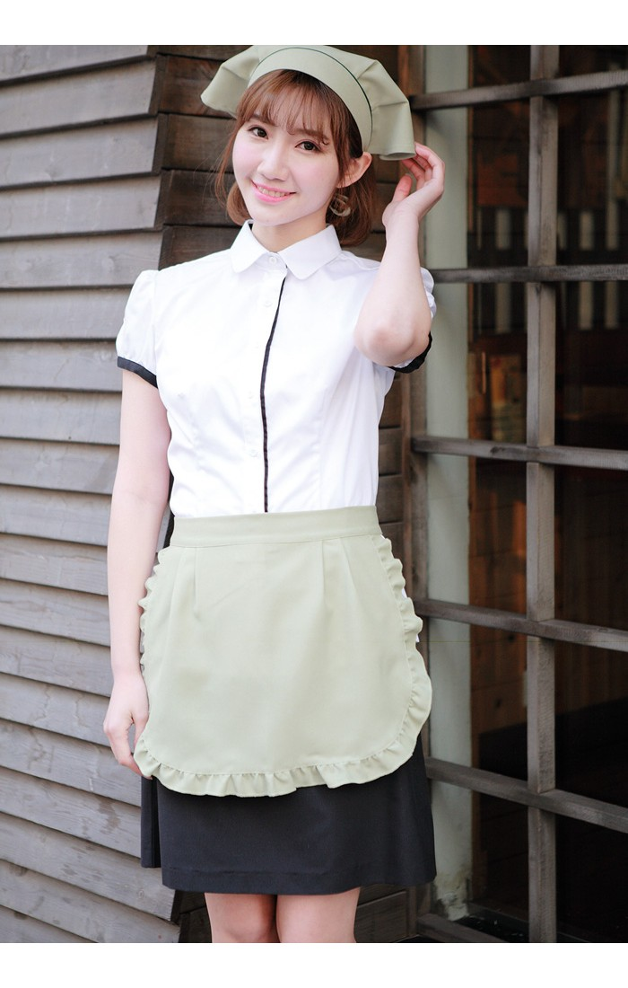Ladies' Lacy Short Apron