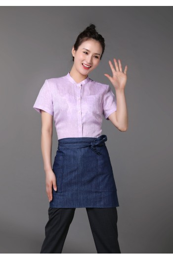 Ladies' Short  Sleeve Blouse