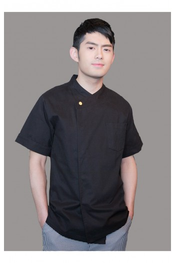 Short Sleeve Chef 's Shirt