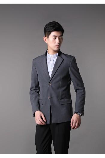 Men Stand Collar Jacket