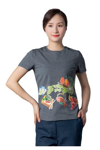 女式短袖针织衫