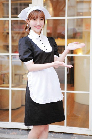 女式短袖連身裙