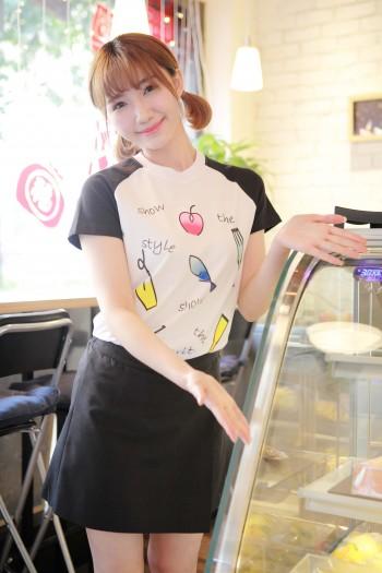 女生短袖T恤衫