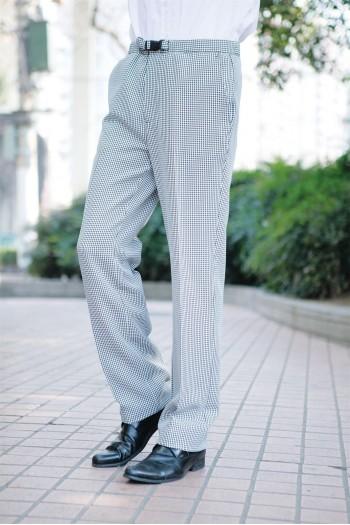 男式全松紧长裤