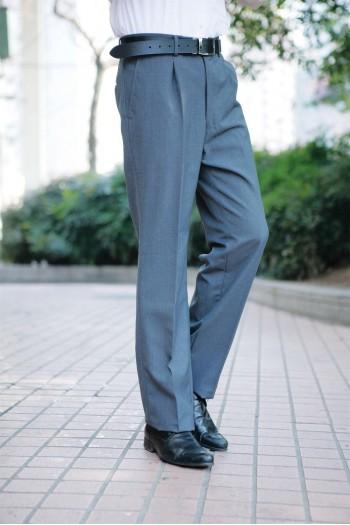 男式合體長褲