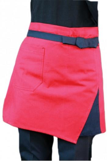 男女通用鑲色短圍裙