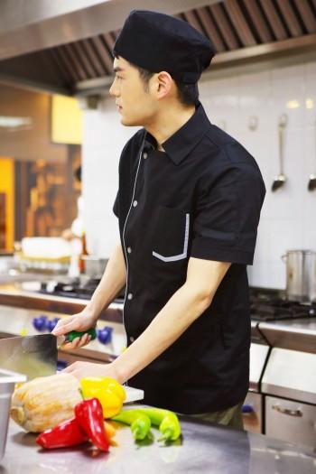 短袖廚師服